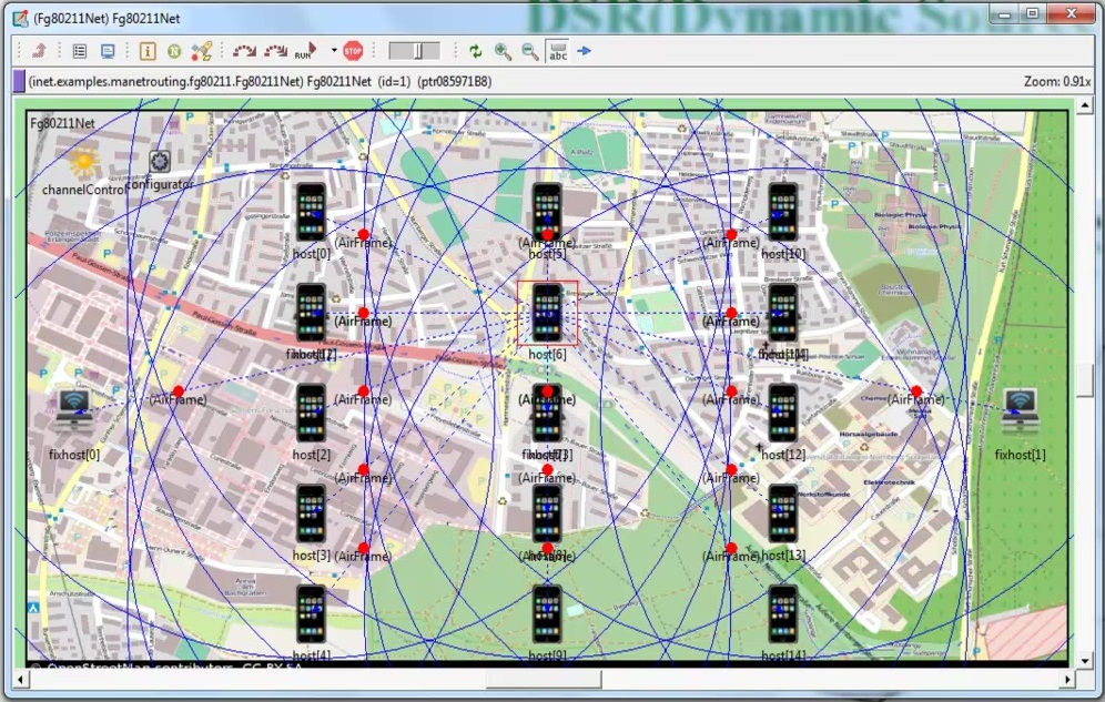 DSR 19_using_omnet_projects