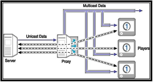 Architecture of MULTICAST routing PROJECTS