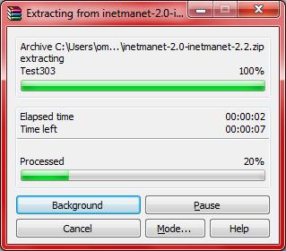 Omnet InetManet Installation Step6