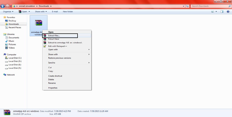 Omnet Installation Step11