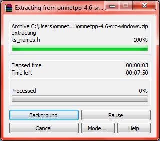 Omnet Installation Step13