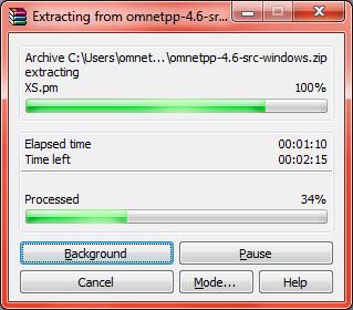 Omnet Installation Step14
