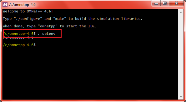Omnet Installation Step18