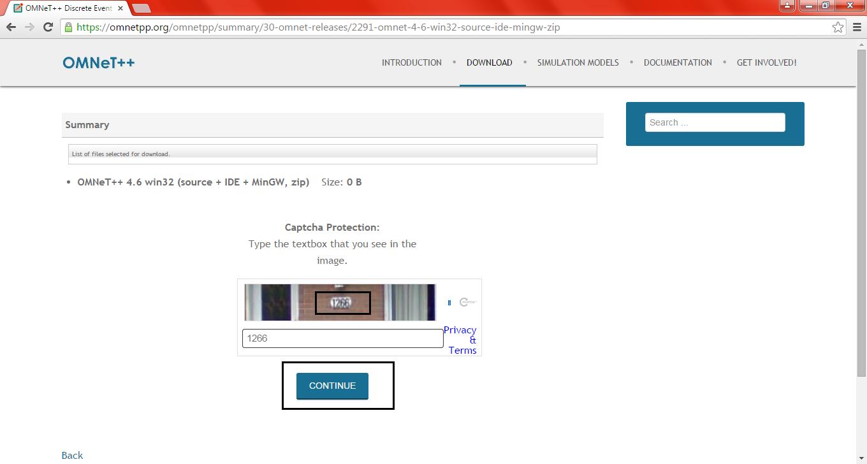 Omnet Installation Step7