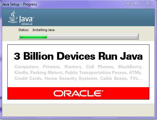 Omnet JDK Installation Step14