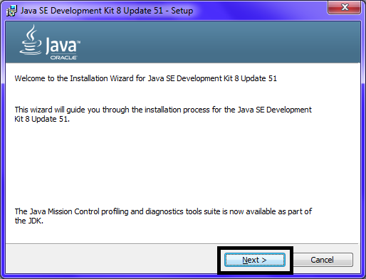 Omnet JDK Installation Step9