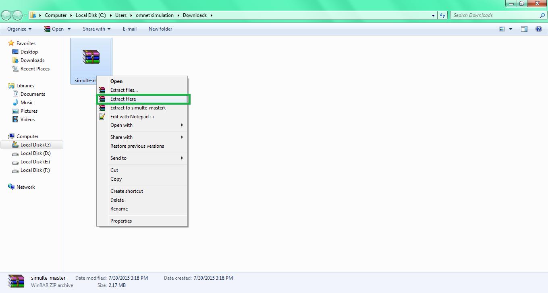 Omnet LTE Installation Step5