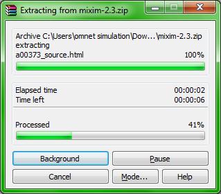 Omnet MIXIM Installation Step6