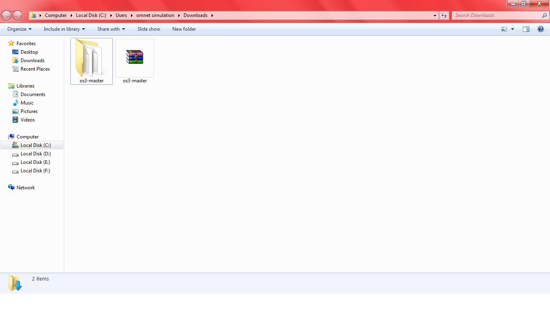 Omnet OS3 Installation Step5