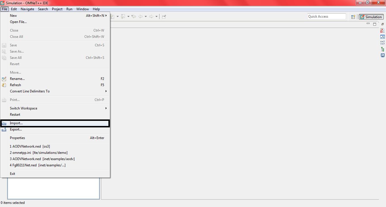 Omnet OS3 Installation Step7